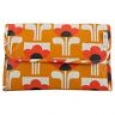 Orla Kiely For Target Multi Olive Hanging Organizer Floral Cosmetic Bag
