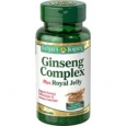Nature's Bounty Ginseng Complex Plus Royal Jelly 75 Capsules