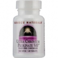Source Naturals Ultra Chromium Picolinate 500 500 mcg - 60 Tablets