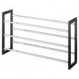 3 Tier Stackable Shoe Rack Espresso - Room Essentials