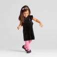 Toddler Girls Chiffon Flapper Dress - Verve Violet 3T