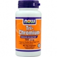 NOW Foods Tri-Chromium 500 mcg - 90 Vegetarian/Vegan Capsules