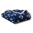 Anchors Plush Blanket - Pillowfort