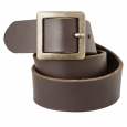 Mossimo Supply Co. Genuine Leather Pilgrim Belt - Brown M
