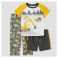 Toddler Boys???Pajama Set - Just One You Made by Carter's Yellow 3T