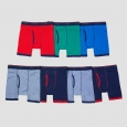 Boys' Hanes Red Label Boxer Briefs 7 Pk - Multi-colored S, Multicolored