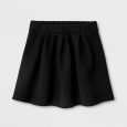 Girls' A Line Skirts - Cat & Jack Black M