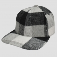 Boys' Plaid Baseball Hat - Cat & Jack???Black/white Soft