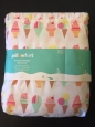 Pillowfort Frozen Fantasy Ice Cream Cone Bedding Sheet Set - Twin Size -