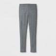 Girls' Ponte Fashion Pants - Cat & Jack Heather Gray M