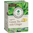 Organic Green Tea with Ginger 16 Bag