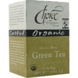 Choice Organic Teas Green Tea Classic Blend 16 Tea Bags