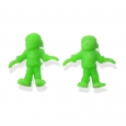 8pk of 1 Halloween Party Favor Figure Green Monster - Bullseyes Playground