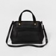 Women's Satchel Handbag - Merona Black