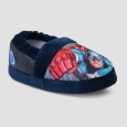 Toddler Boys' Marvel Avengers Slippers - Navy M(7-8), Blue
