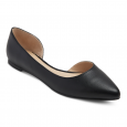 Mossimo Mohana Womens 10 Black Point Toe Stylish Cut Out Flat Shoes