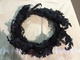 Hyde & Eek Boutique Halloween Wreath 17""