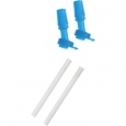 Camelbak Kids Bottle Accessory 2 Bite Valves/2 Straws (ice Blue, 1376401000) Aoi
