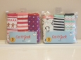 Cat & Jack Girls Briefs Underwear Size Medium 7/8 Lot Of 2 Packs Of 3