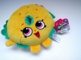 "Shopkins Billy Bagel 6"" Plush Toy Gift Rare Brand With Tags"