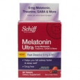 Schiff Fast Dissolving Melatonin Ultra Berry Cream 60 Tablets