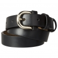 Merona Black Modern Dress Belt - L