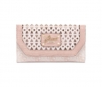 GUESS Park Lane Slim Clutch (Light Rose)