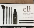 Elf Essential Brushes - 6 Brushes And Cleaner Spray Set - In Box