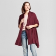 Women's Wrap - A New Day Maroon (Red) One Size