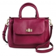 Women's Mini Satchel With Crossbody Strap Handbag - Merona???herry Peony