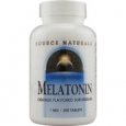 Source Naturals Melatonin Sublingual Orange 1 mg - 300 Tablets