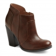 Women's Emma Heeled Ankle Boots - Cognac 11