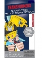 Transformers Valentines Thumb Wars Cards With Temporary Tattoos 32 Ct