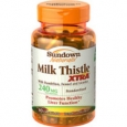 Sundown Naturals Milk Thistle Xtra 240 mg - 60 Capsules
