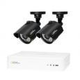 Q-See 4 Channel HD Security System with 2-720p HD Cameras, Pre-installed 1TB Hard Drive