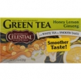 Celestial Seasonings Green Tea Honey Lemon Ginseng with White Tea 20 Tea Bags