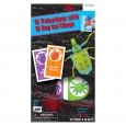 16ct Valentine's Day Mello Smello Bug Gel Cling Cards, Multi-Colored