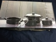 Micro World Cookware Set - Black Carbon Steel - 7-pc.