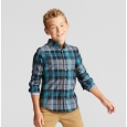 Boys' Button Down Shirt - Cat & Jack Black XS