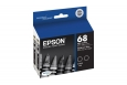 Epson T068120-D2 Dual Pack High-Capacity Black Ink Cartridges