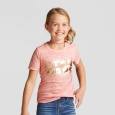 Girls' Star Wars Short Sleeve T-Shirt - Coral S, Pink