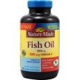 Nature Made Fish Oil 1000 mg - 250 Liquid Softgels