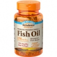 Sundown Naturals Odorless Premium Omega-3 Fish Oil 1290 mg - 60 Odorless Coated Mini Softgels