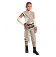 Star Wars® Episode VII Rey Deluxe Girl's Costume