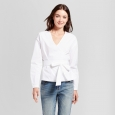 Women's Wrap Shirt - A New Day White XL