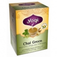 Yogi 100% Natural Herbal Tea Chai Green 16 Tea Bags
