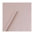 Gold Foil Small Dots On Blush (pink) Wrapping Sugar Paper