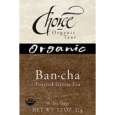 Choice Organic Teas Green Tea Bancha Hojicha 16 Tea Bags