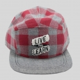 Boys' Camper Flannel Cap - Cat & Jack Red
