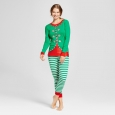Women's Pajama Set - Green L - Wondershop